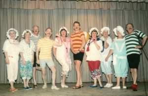 Second City Sound - Old Time Chorus Line, November 1993